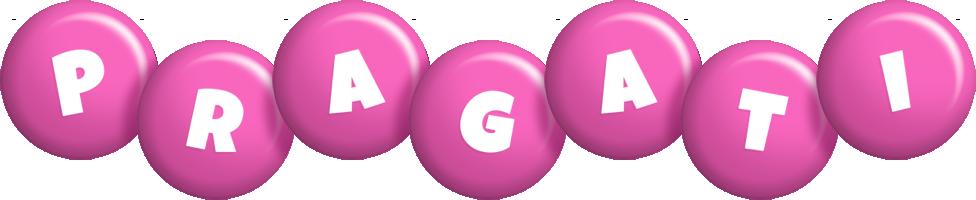 Pragati candy-pink logo