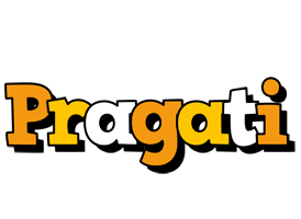 Pragati cartoon logo