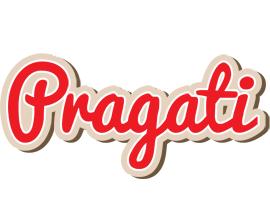 Pragati chocolate logo