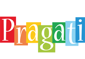 Pragati colors logo