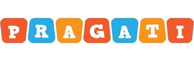 Pragati comics logo