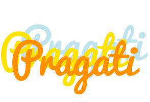Pragati energy logo