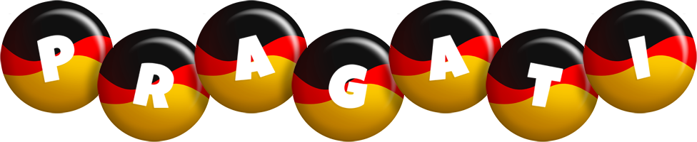 Pragati german logo