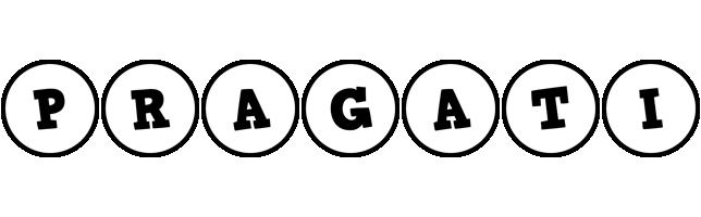 Pragati handy logo