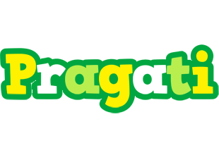 Pragati soccer logo