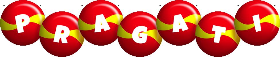 Pragati spain logo