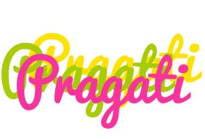 Pragati sweets logo