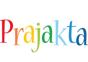 Prajakta birthday logo