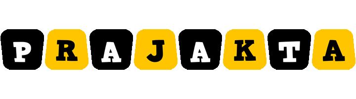 Prajakta boots logo