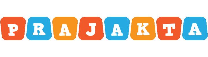 Prajakta comics logo