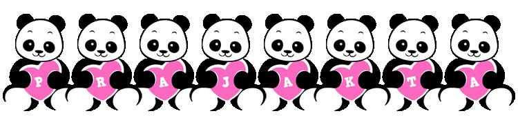 Prajakta love-panda logo