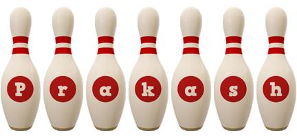 Prakash bowling-pin logo