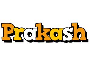 Prakash cartoon logo
