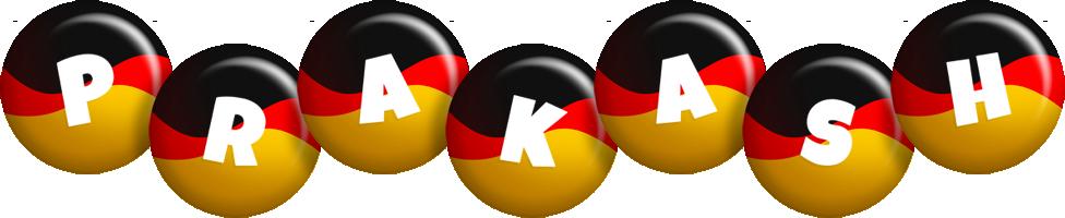 Prakash german logo