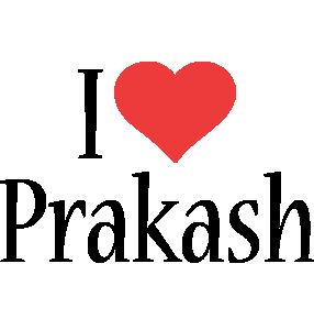Prakash i-love logo
