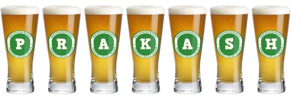 Prakash lager logo
