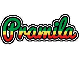 Pramila african logo