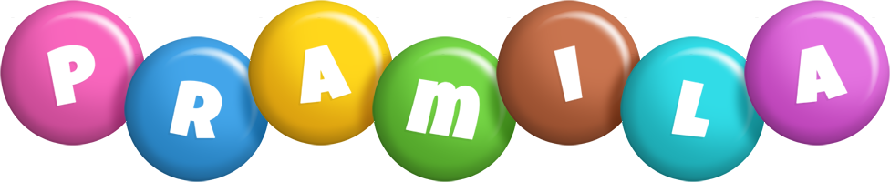 Pramila candy logo