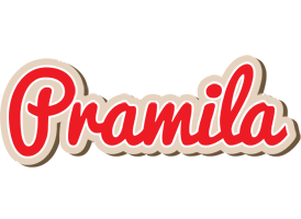 Pramila chocolate logo