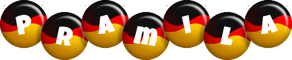 Pramila german logo