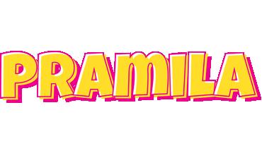 Pramila kaboom logo