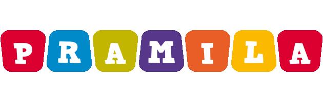 Pramila kiddo logo