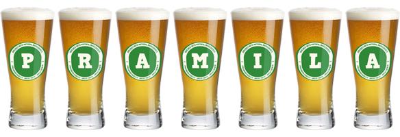 Pramila lager logo