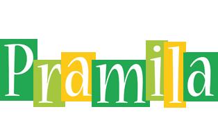 Pramila lemonade logo