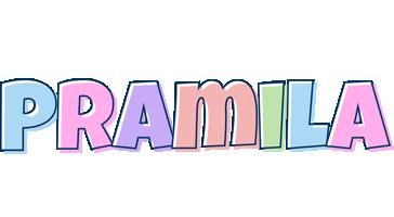 Pramila pastel logo