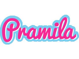 Pramila popstar logo