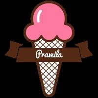 Pramila premium logo