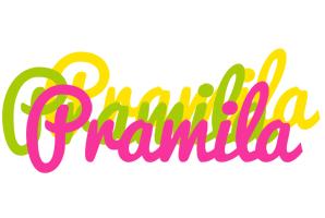 Pramila sweets logo