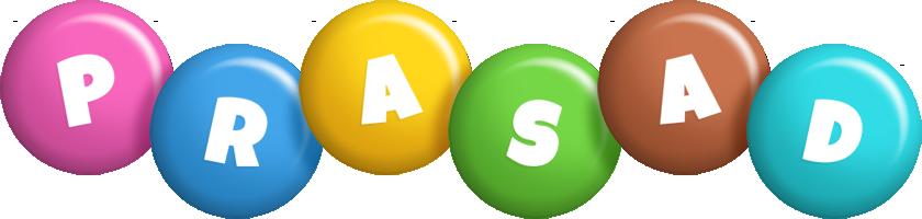 Prasad candy logo
