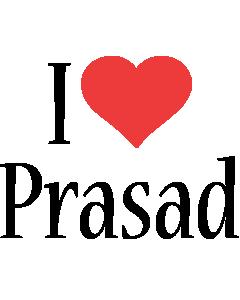 Prasad i-love logo