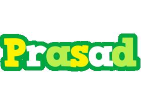 Prasad soccer logo