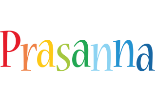 Prasanna birthday logo