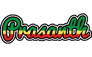 Prasanth african logo