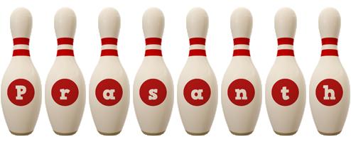 Prasanth bowling-pin logo