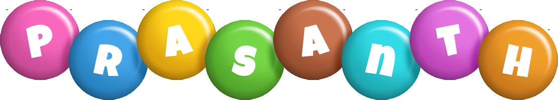 Prasanth candy logo