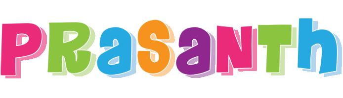 Prasanth friday logo