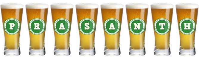Prasanth lager logo