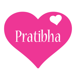 pratibha logo name logo generator i love love heart