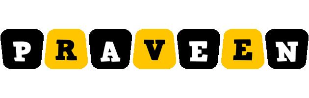 Praveen boots logo
