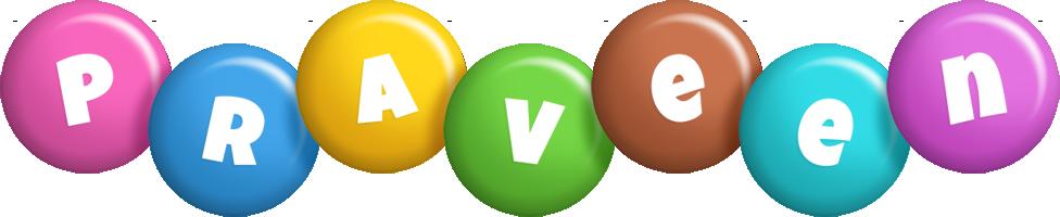 Praveen candy logo
