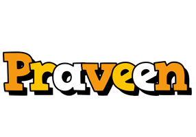 Praveen cartoon logo