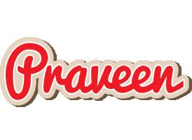 Praveen chocolate logo