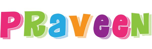 Praveen friday logo