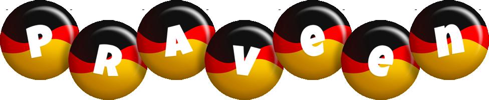 Praveen german logo