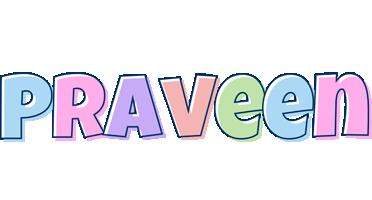 Praveen pastel logo