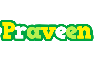 Praveen soccer logo
